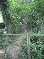Footpath entrance. - geograph.org.uk - 540688.jpg