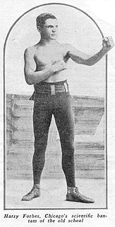 Harry Forbes (boxer) American boxer