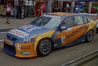 Prodrive Racing Australia - Image: Ford FG Falcon of Will Davison