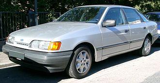 Ford Scorpio - Ford Scorpio Mk I Hatchback (1985–1989)