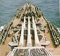 Foredeck of New Mexico class battleship 30 July 1944.jpg
