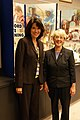 Former DOE ORP Manager Shirley Olinger with WA Senator Patty Murry 2008 (7977757927).jpg