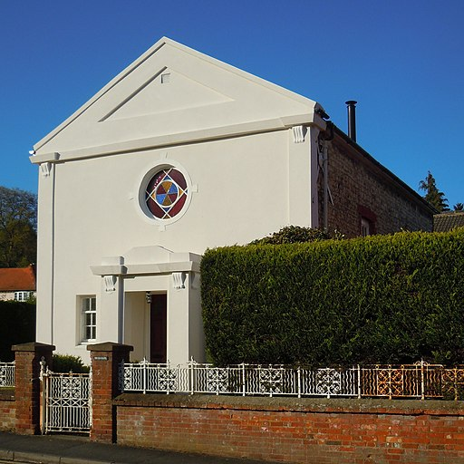 Former Park Lane Baptist Chapel, Bear Lane, Farnham (May 2015) (2)