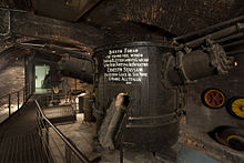 stassano furnace exhibited at the museo della scienza e della tecnologia leonardo da vinci milan