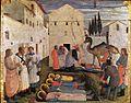 Fra Angelico - Sepulchring of Saint Cosmas and Saint Damian - WGA00518.jpg