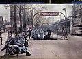 France Paris Metro Auteuil Boulevard Excelmans 1920 autochrome Poster.JPG