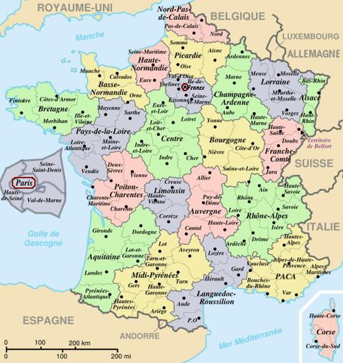 42a33b762 Fransk geografi - Wikiwand