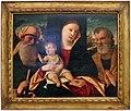 Francesco da santacroce, madonna col bambino tra i ss. simone e giuseppe, 1500-50 ca.jpg