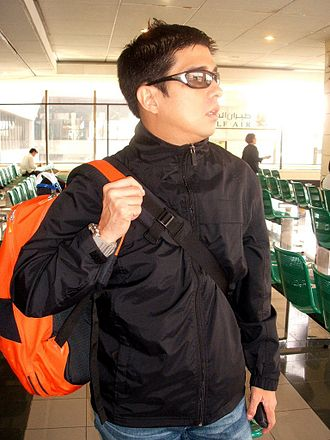 Francis Magalona - Magalona at Ninoy Aquino Airport in Manila
