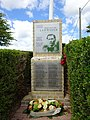 Francis Ledwidge memorial near Artillery Wood Military Cemetery 01.jpg