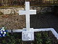 Franciszek Skura lat 13 yo Cemetery of Polish victims of the German Nazi massacre in Sochy from June 1, 1943 Skura, Pieczykolan family.jpg