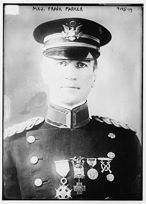 Frank Parker (general) - Parker in 1917