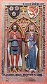Frankfurt Am Main-St Bartholomaeus-Grabmal des Johann von Holzhausen und seiner Frau Gudula-20080208.jpg