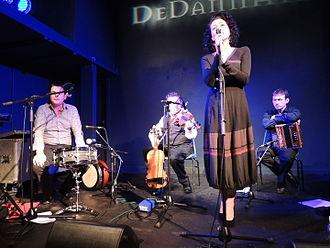 """De Dannan - Frankie Gavin and De Dannan at the """"Craiceann Bodhrán Festival"""" 2012"""
