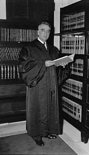 Fred M. Vinson American judge
