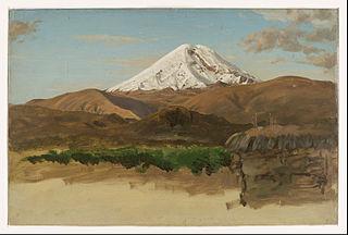 Étude du mont Chimborazo, Équateur