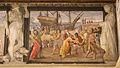 Fregio di Giasone e Medea 09 annibale carracci su dis. di ludovico, incontro di giasone con re eta, 1584 ca..JPG