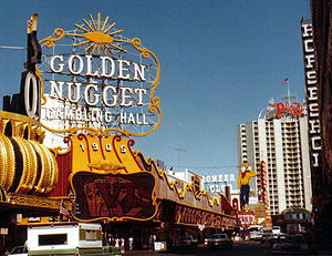 Golden Nugget Las Vegas - The Golden Nugget in 1983