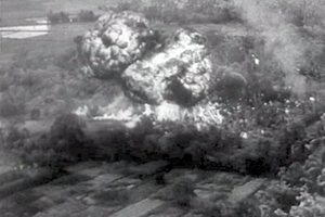Operation Mouette - Image: French indochina napalm 1953 12 1