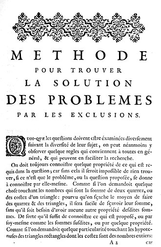 Bernard Frénicle de Bessy - Frenicle's Methode, 1754 edition.