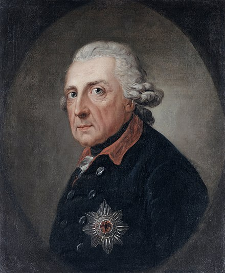 Frederick the Great (1781) Friedrich der Grosse (1781 or 1786) - Google Art Project.jpg