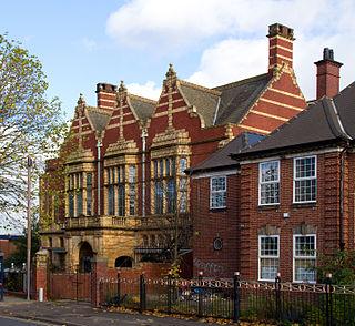 Friends Institute buildings group of buildings in Birmingham, England