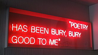 Bury Interchange - Image: From Northern Soul (Bury Neon)