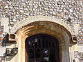 Front Door archway Mannington Hall 31 August 2014.JPG