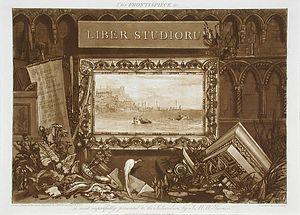 Liber Studiorum - The frontispiece