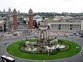 Fuente Pl. España Barcelona2.JPG
