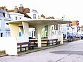 Futuristic rain shelter on Deal seafront - geograph.org.uk - 1140751.jpg
