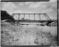 GENERAL VIEW OF SOUTH SIDE - Victor Bridge, Spanning Bitterroot River, Victor, Ravalli County, MT HAER MONT,41-VICT.V,1-1.tif