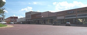 Gilmer, Texas - Downtown Gilmer, Texas