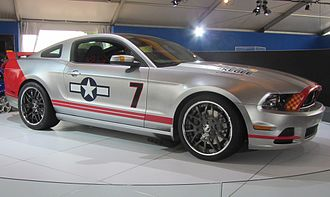 """Young Eagles - """"Red Tails"""" Auction Mustang"""