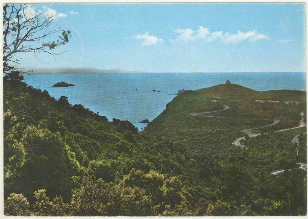 GR Punta Ala - panorama, 1962, Collezione cartoline Albertomos
