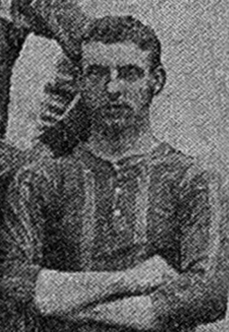 George Anderson (footballer, born 1879) - Anderson while with Brentford 1910