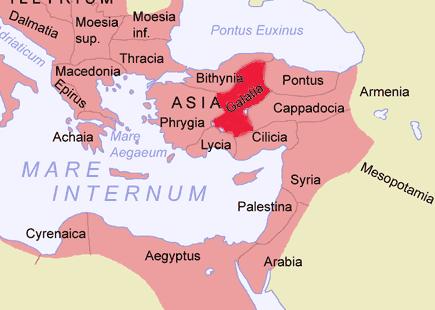 Galatia Map