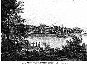 Regulamentul Organic - The Moldavian Danube port of Galați (1826)