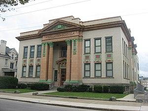Gallatin School (Uniontown, Pennsylvania) - Gallatin School, September 2011