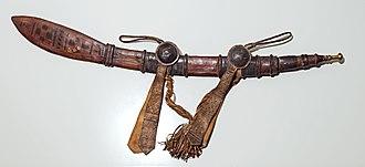 Mandinka people - Mandinka saber, Gallieni collection MHNT