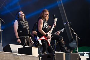 Gamma Ray (band) - Gamma Ray in concert in 2016 (Rockharz Open Air)