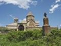 Gandzasar monastery Vank, Nagorno Karabakh (28306432153).jpg