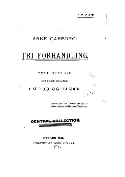 File:Garborg - Fri forhandling.djvu