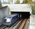 Garching, Forschungszentrum, Portal des-U-Bahn-Tunnels, 2.jpeg