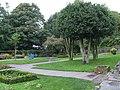 Garden with horizontal gravestones, Holmfirth - geograph.org.uk - 981557.jpg