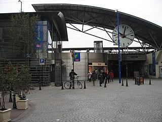 railway station in Asnières-sur-Seine, France