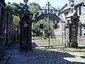 Gates to Plas Machynlleth - geograph.org.uk - 521819.jpg