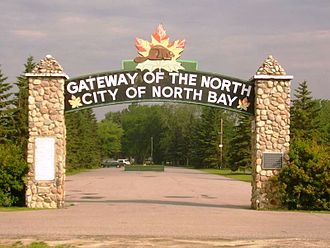 North Bay, Ontario - North Bay is the gateway to Northern Ontario.