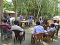 Gathering in a meeting of villagers in an Bangladeshi village 2015 19.jpg