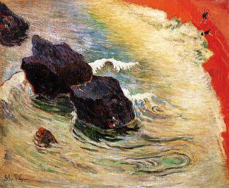 The Wave (Paul Gauguin) - Image: Gauguin 1888 La Vague